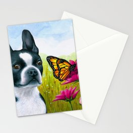 Boston Terrier Dog Stationery Cards