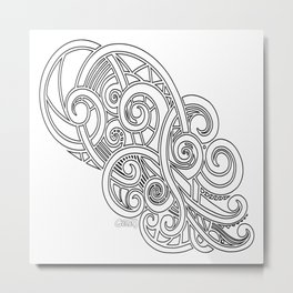 Octopus 2 Metal Print