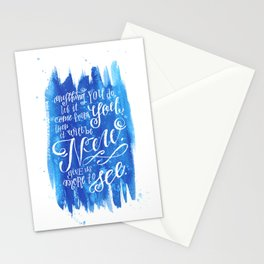 You Keep Moving On [Sunday In The Park With George] Stationery Cards