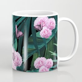 Tropical Peonies Dream #1 #floral #foliage #decor #art #society6 Coffee Mug