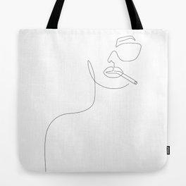 Sunny Smoke Tote Bag