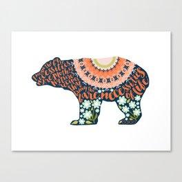 The Bare Necessities. The Jungle Book. Canvas Print