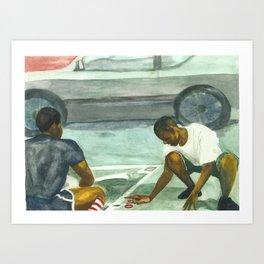 COOLEY Art Print