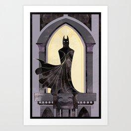 Gothic Justice Art Print