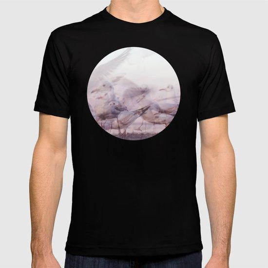 SONGS OF BIRDS | White Seagulls T-shirt