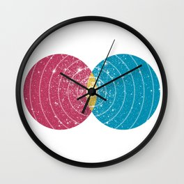 Stars Collide  Wall Clock