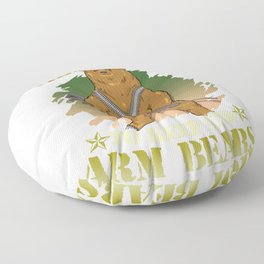 Cute I Support The Right To Keep And Arm Bears Pun Floor Pillow