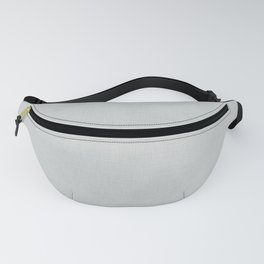 Plain grey fabric texture Fanny Pack