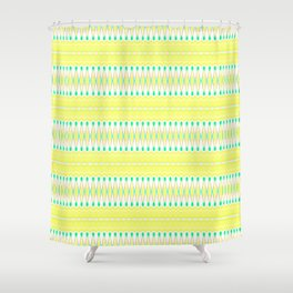 Lemon Lime Shower Curtain