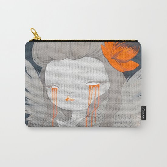 Hawaiian Raven Carry-All Pouch