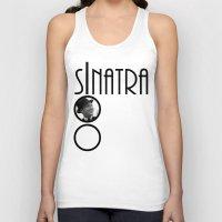 frank sinatra Tank Tops featuring Sinatra 100th Birthday by EmeraldSora