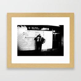 Proud Performer Framed Art Print
