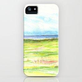 Sea meadow iPhone Case