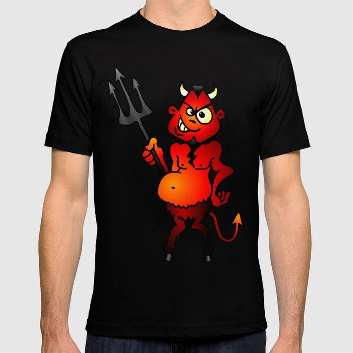 Fat red devil T-shirt