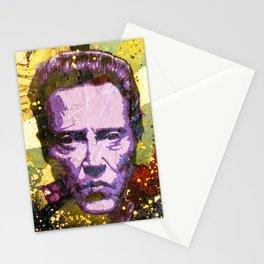 Christopher Walken Stationery Cards