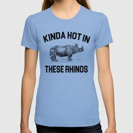 Ace Ventura - Kinda Hot In These Rhinos T-shirt