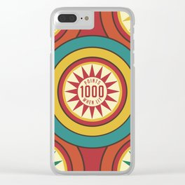 Pinball 2 Retro game Clear iPhone Case