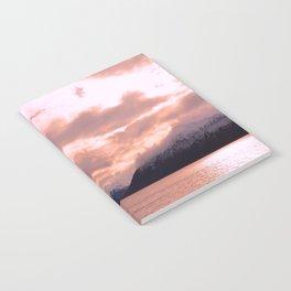 Rose Quartz Over Hope Valley Notebook