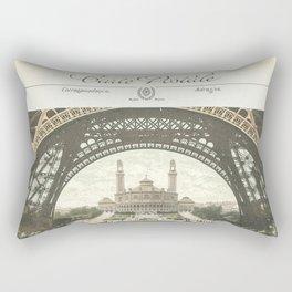 Paris Postcard #2 by Murray Bolesta Rectangular Pillow