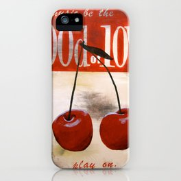 food of love iPhone Case