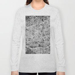 Rotterdam Netherlands City Map Long Sleeve T-shirt