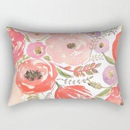 Flower Profusion Rectangular Pillow