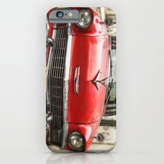 Vintage Red American Car on the Streets of Havana. iPhone 6s Slim Case