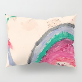 Happy Girl Nail Polish Pillow Sham