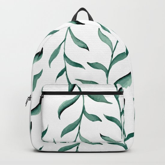 Blue branches. Backpack