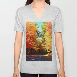 Road of Candied Trees Unisex V-Neck