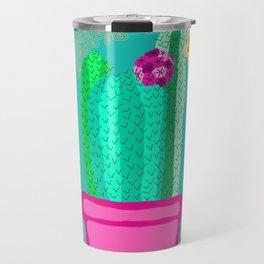 The Trio Cactus Plant Travel Mug