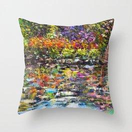 Hidden Peace by Sher Nasser Artist Throw Pillow