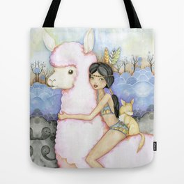 Cotton Candy Ride Tote Bag