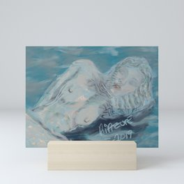 Nyphaea soft Mini Art Print