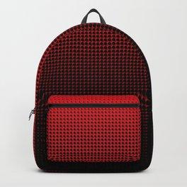 Red & Black Halftone Backpack