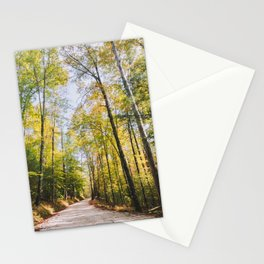 Forest Road - Muir Valley, Kentucky Stationery Cards