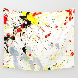 Paint Splatter Wall Tapestry