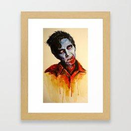 Zombie - Flyboy Framed Art Print