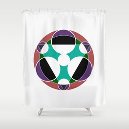 Chronograph Shower Curtain