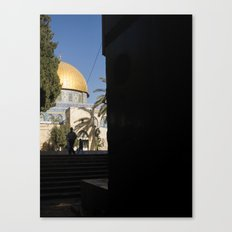 Doorway to the Dome of the Rock Canvas Print