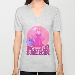 Blowing Bubblegum Unisex V-Neck