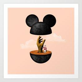 Inside The Mouse Art Print