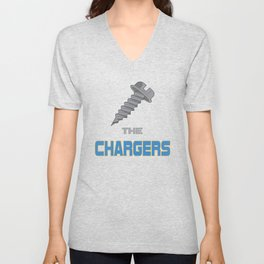 Screw the Chargers Unisex V-Neck