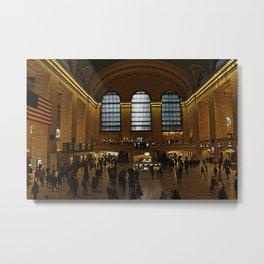 Grand Central Metal Print
