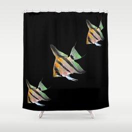 Fishs 1 Shower Curtain