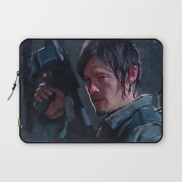Daryl Dixon Night Watch - The Walking Dead Laptop Sleeve