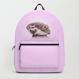 Curvy hedgehog Backpack