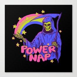 Power Nap Canvas Print