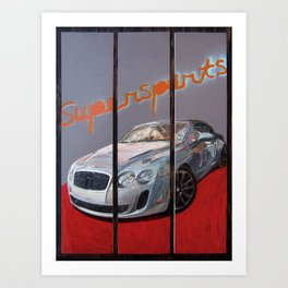 Supersports Art Print