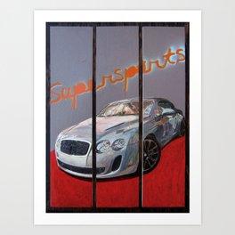 Supersports Art Print